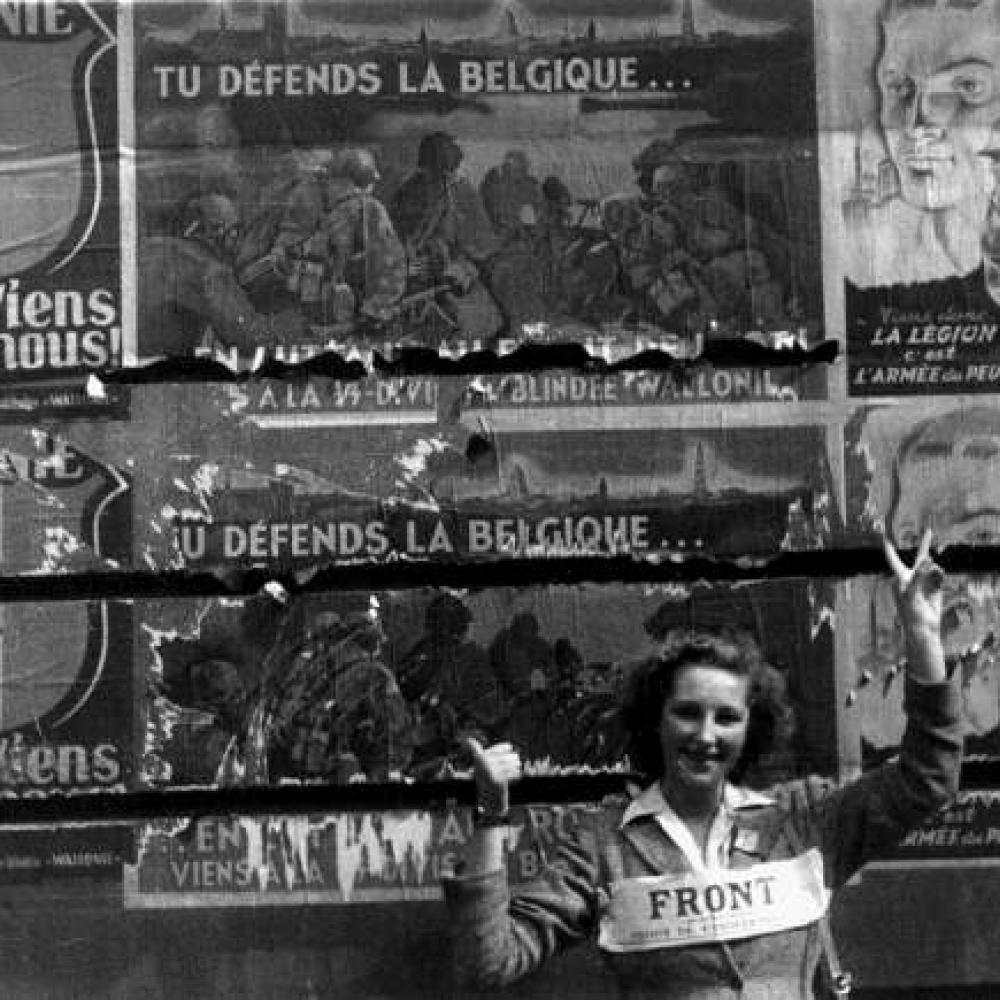Lid van het Verzet - Brussel, september 1944