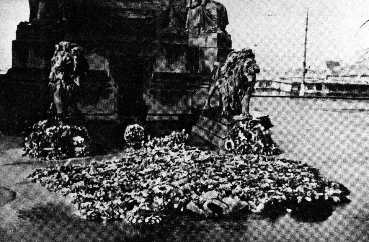 Hommage au Soldat inconnu, 11 novembre 1940