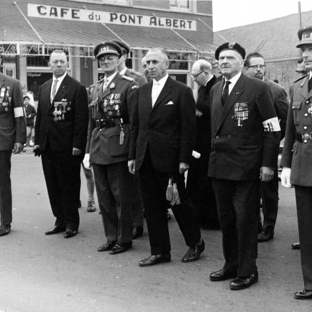 Résistants à nieuport-1963