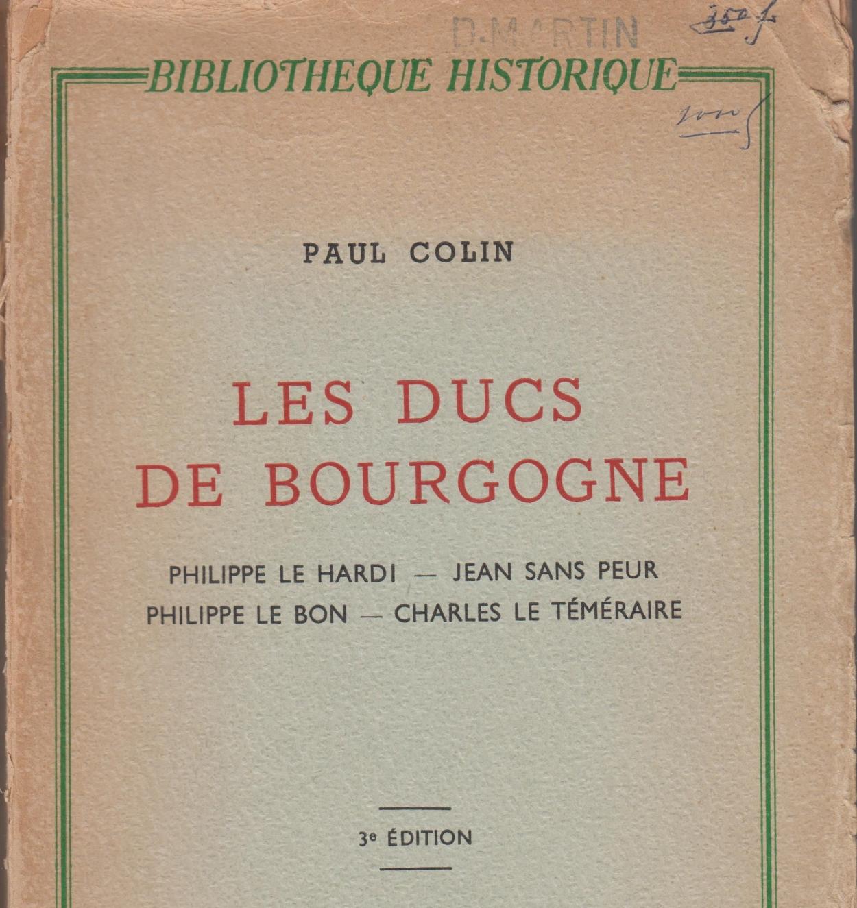 bab3038_les-ducs-de-bourgogne_p-colin_voorblad