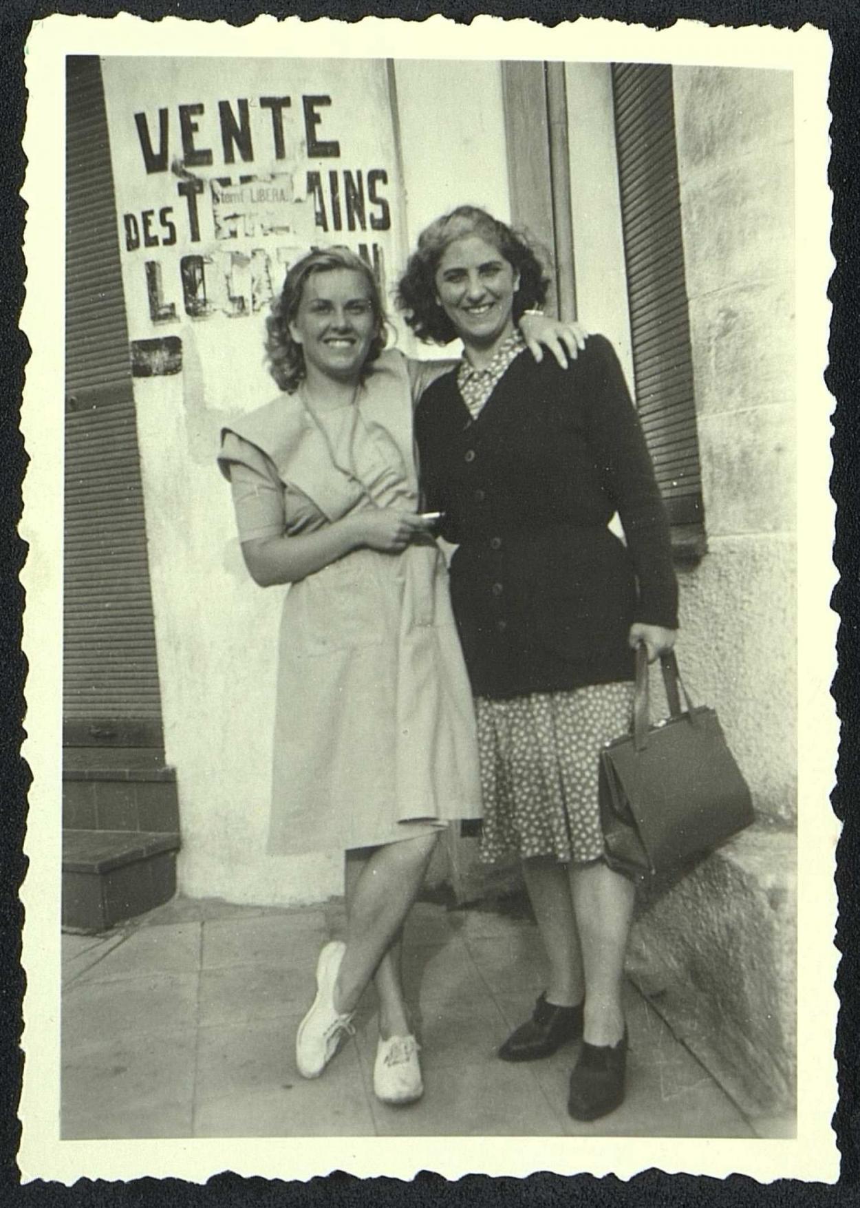 Andrée Geulen et Ida Sterno