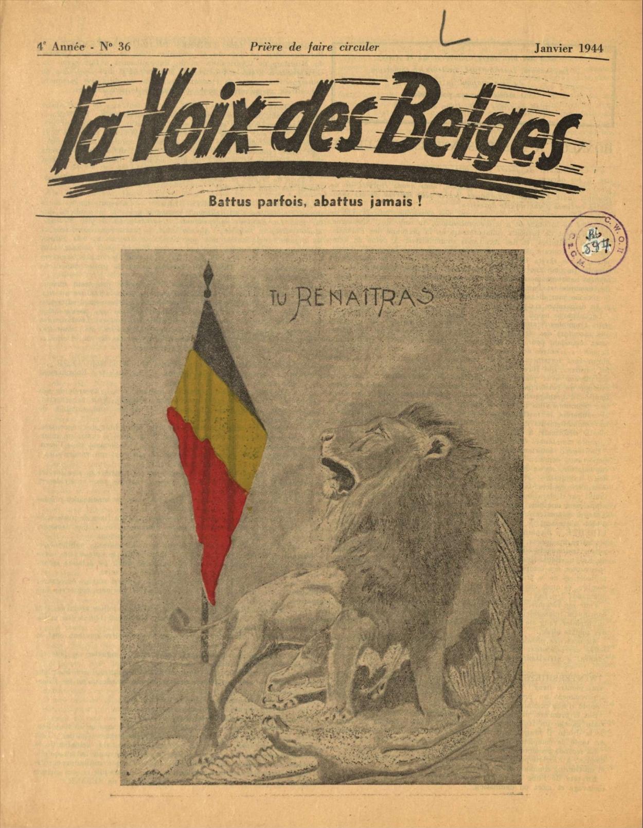 La Voix des Belges