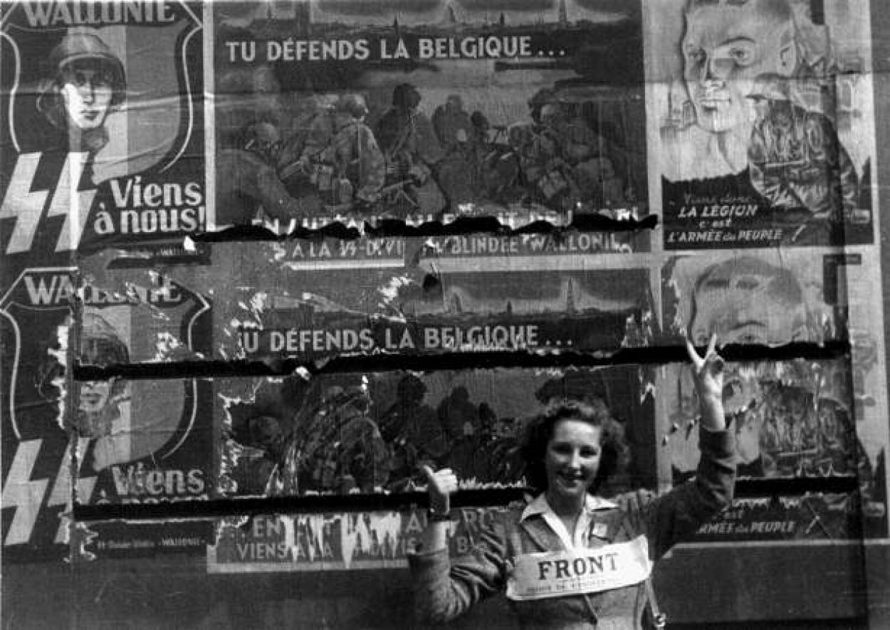 résistante, septembre 1944