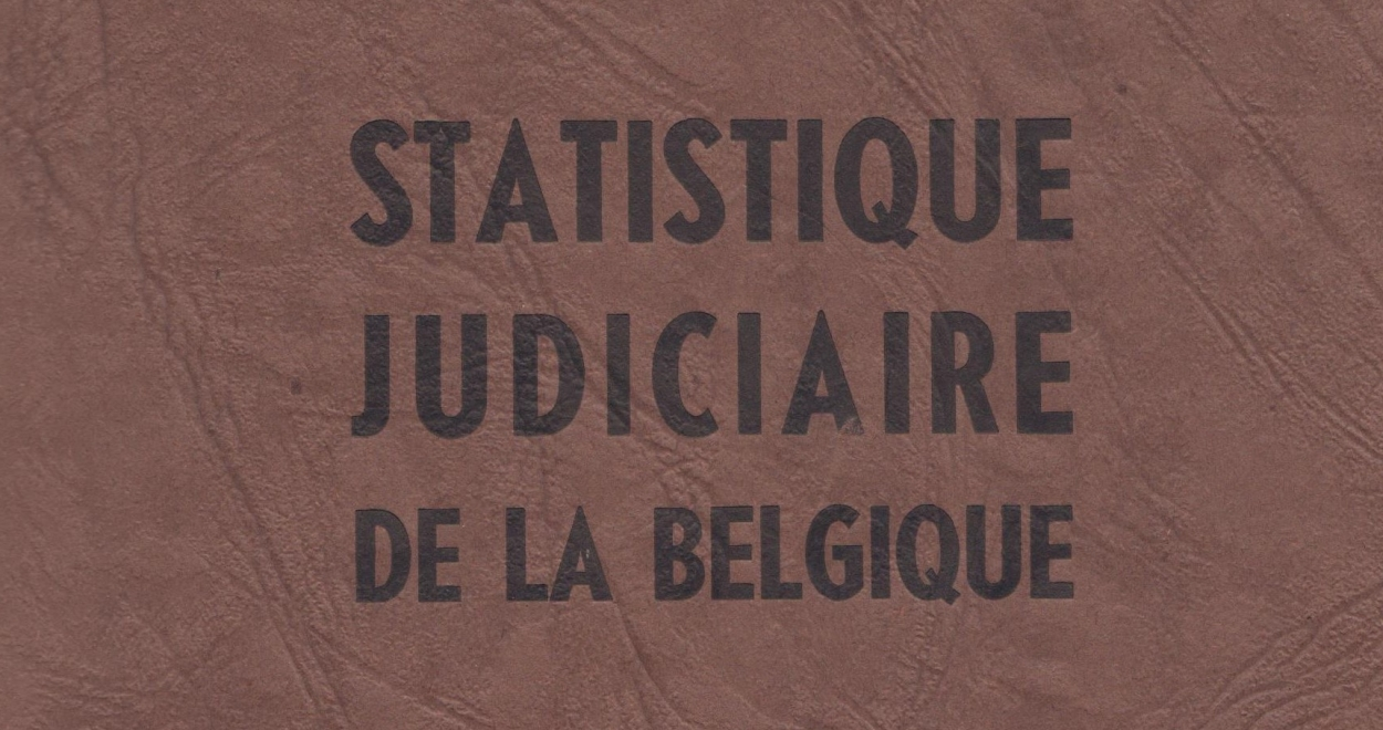 CEGES A 319 Statistique judiciaire