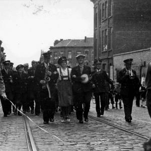 Bevrijding Charleroi : september 1944.